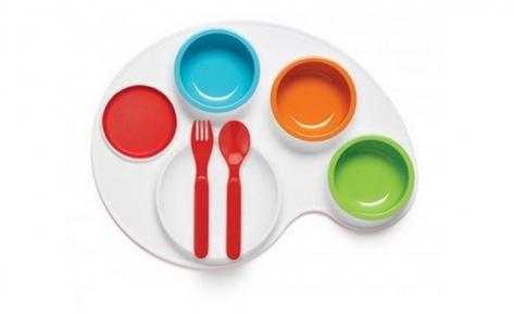 Palette Plate 9 pc Feeding Set by Skip Hop