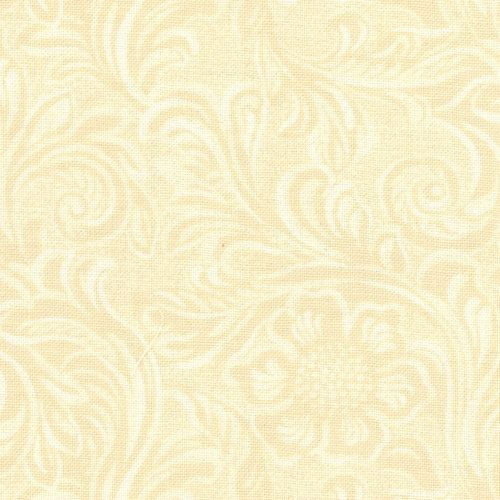 DEEP IN THE HEART OF TEXAS  TOOLED LEATHER - vanilla cream by Sara Khammash for Moda Fabrics, #11216-20    ONE YARD TOTAL This wonderful tooled