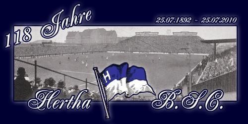 hertha bsc 118 - Kostenlose Gästebuchbilder