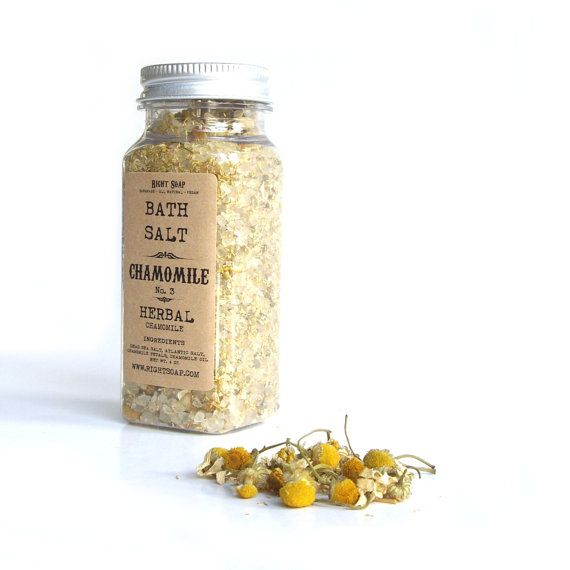 Bath salt  HERBAL Chamomile by RightSoap on Etsy, $6.50: 6 50, Bath Salts, Diy Gifts, 650, Etsy Finding, Stockings Stuffers, Salts Herbal, Herbal Chamomile, Etsy Favourit