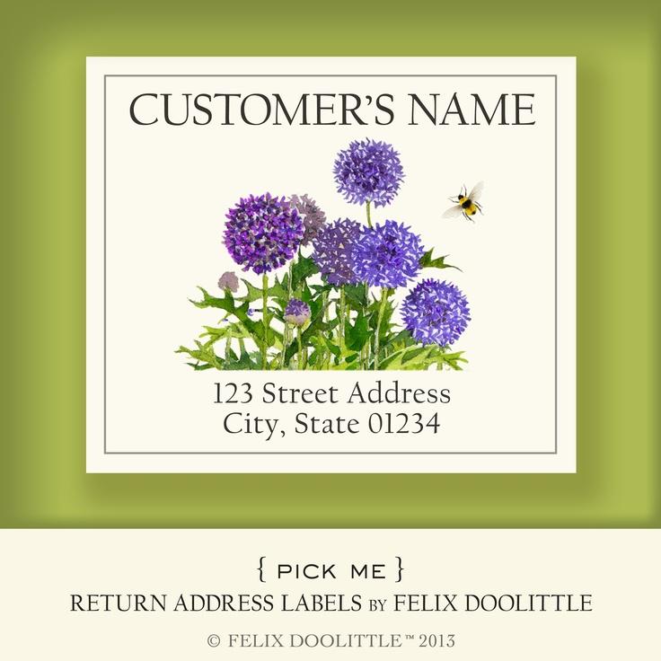 Pick Me! Return Address Labels