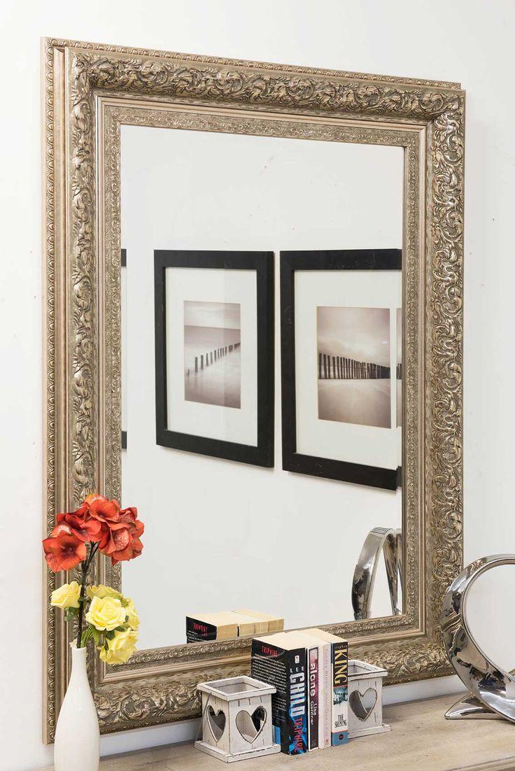best 25 silver framed mirror ideas on pinterest white framed