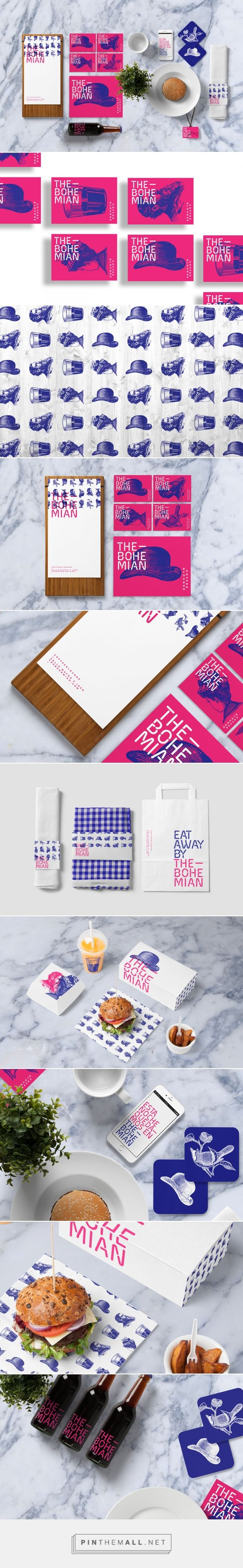 THE BOHEMIAN Coffee Lounge Branding by Quim Marin on Behance   Fivestar Branding – Design and Branding Agency & Inspiration Gallery