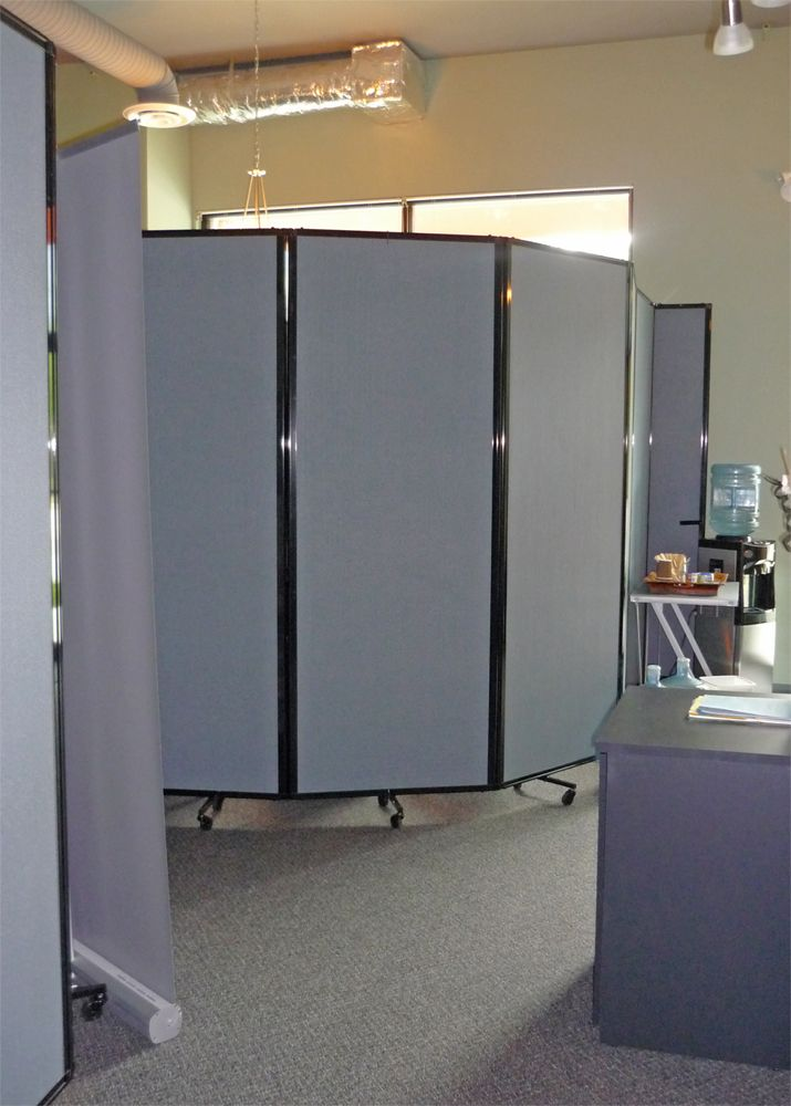 This Weight Loss Center Uses Versare Room Divider 360s To Create Private Weight Checking