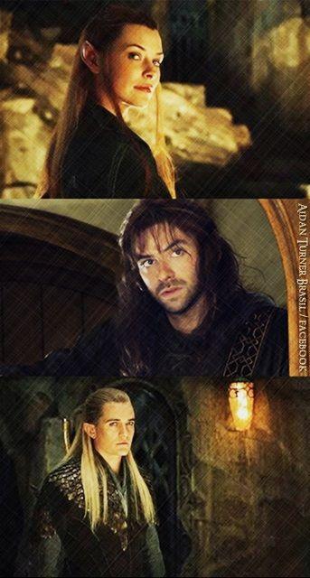 Tauriel, Kili and Legolas -