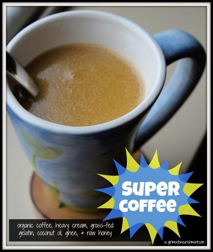 Super Coffee (My Version of Bulletproof Coffee) | Girl Meets NourishmentGirl Meets Nourishment