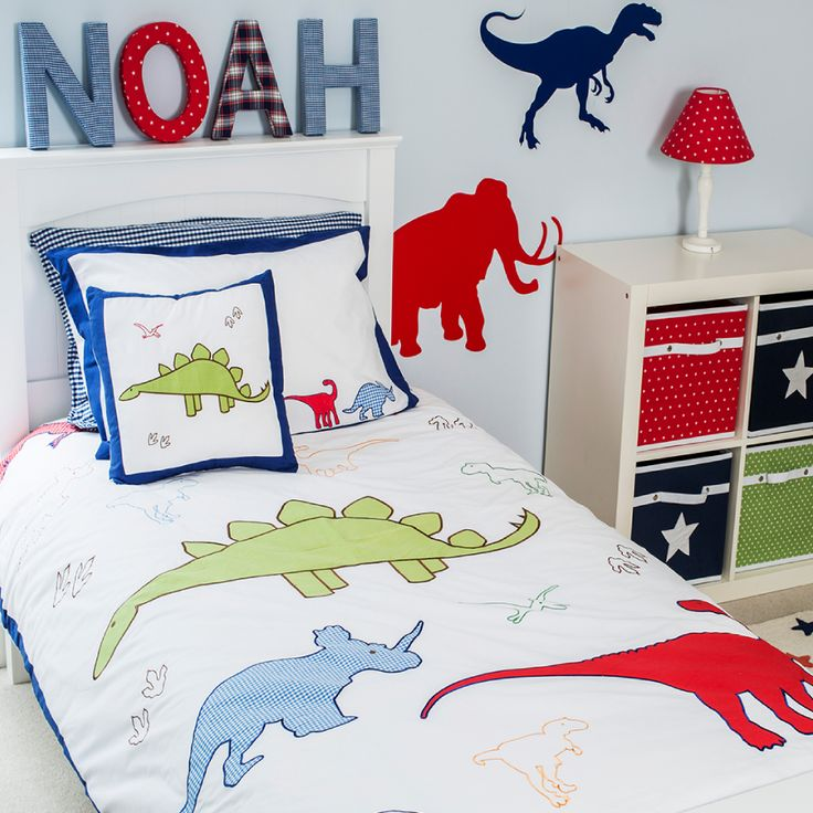 Roar-some duvet set. Matching items available.