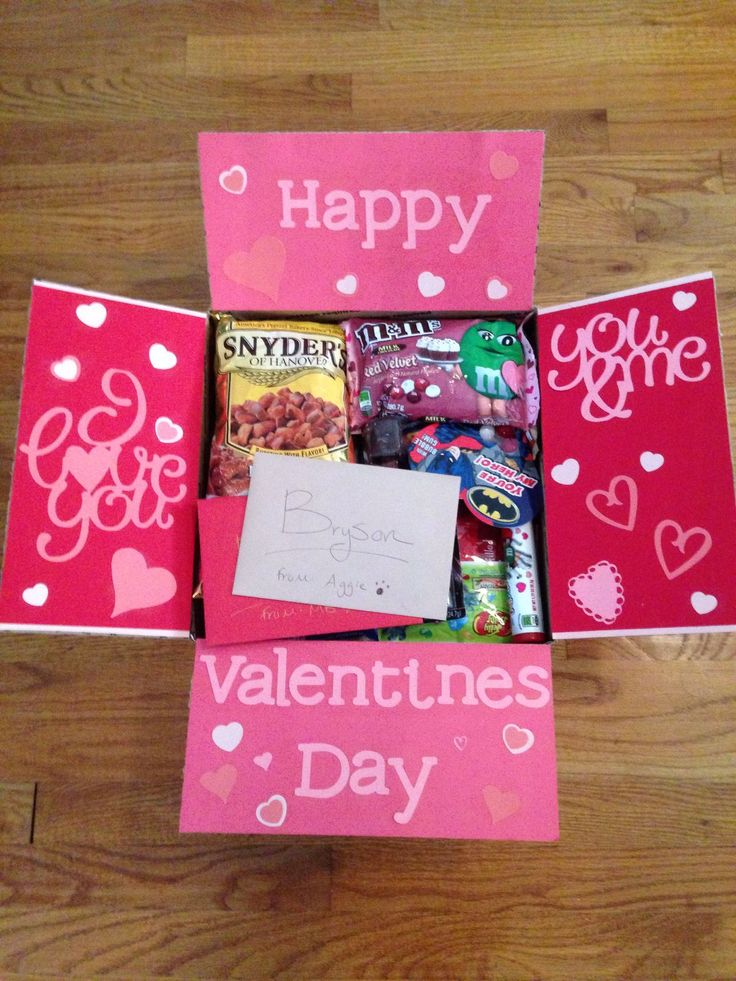 army valentine's day box