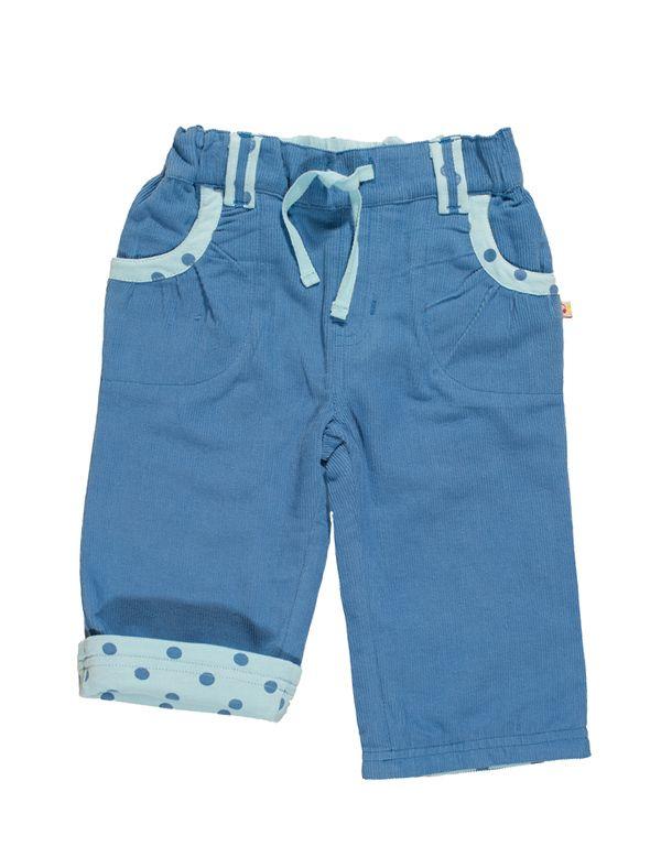 Pantalón pana bebe niña |
