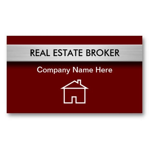 17 Best Images About Best Real Estate Business Cards On