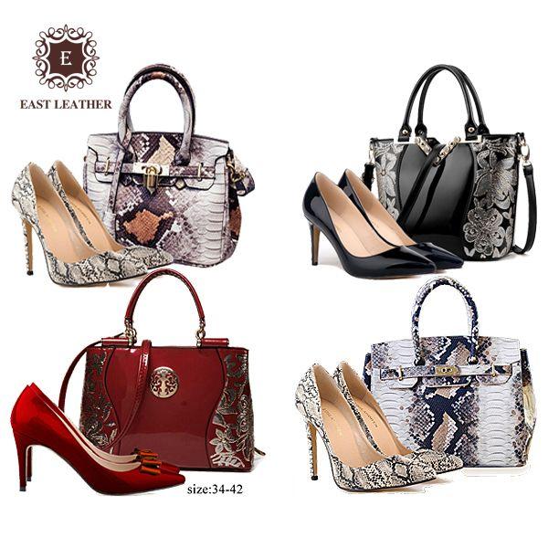 97dd608af3 Source New Arrival 2017 Latest product ladies Italian shoe and pu leather  handbag bag set on m.alibaba.com