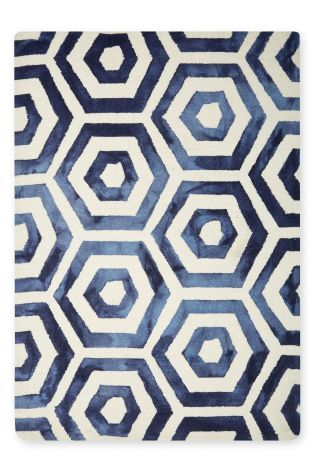Buy Tie Dye Geometric Rug from the Next UK online shop
