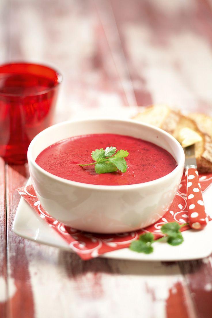 Punainen katkarapu-kookoskeitto | K-ruoka