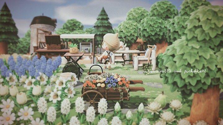 森 花畑 レイアウト あつ