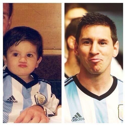 14 Fotos que comprueban que Thiago y Lionel Messi son el mejor dúo de la historia