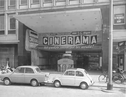 Rotterdam - Westblaak, Cinerama (bioscoop ).