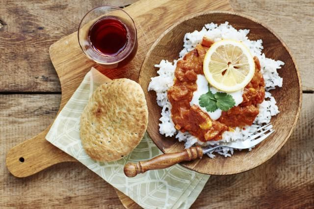 A delightfully simple and quick Chicken Tikka Masala recipe with a spicy yet creamy finish. Delicious.