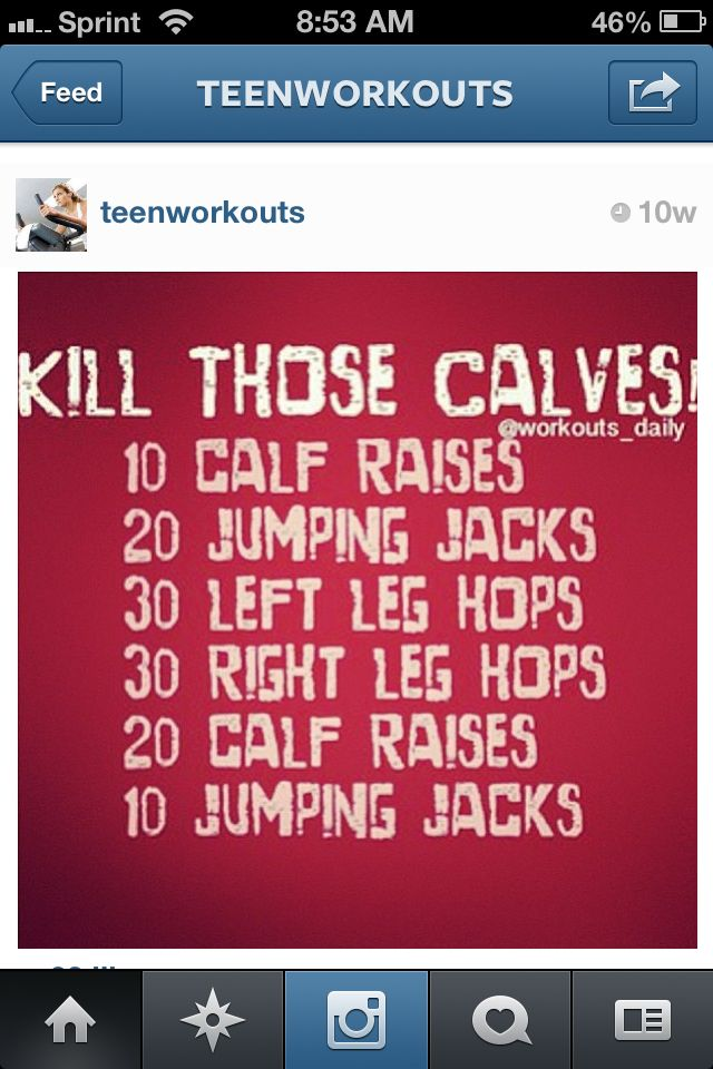 #exercise #workout #fitness calf exercise