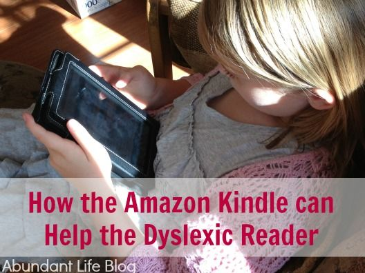 How the Amazon Kindle Can Help the Dyslexic Reader, plus lots of tips on using multiple media styles on multiple devices, and other e-reader benefits. Includes video.