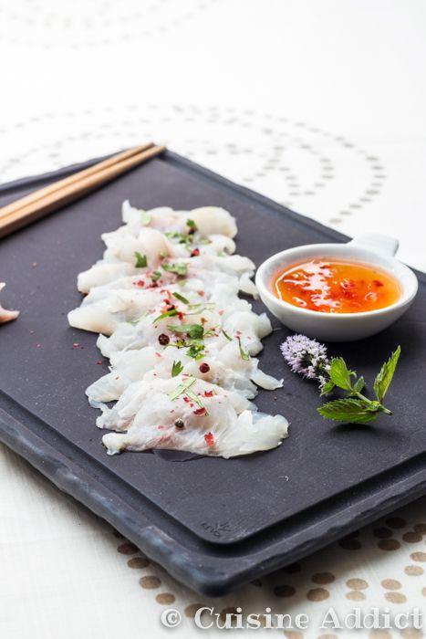 Sashimi de daurade sauce tha de sandra pendle for Sashimi dressing