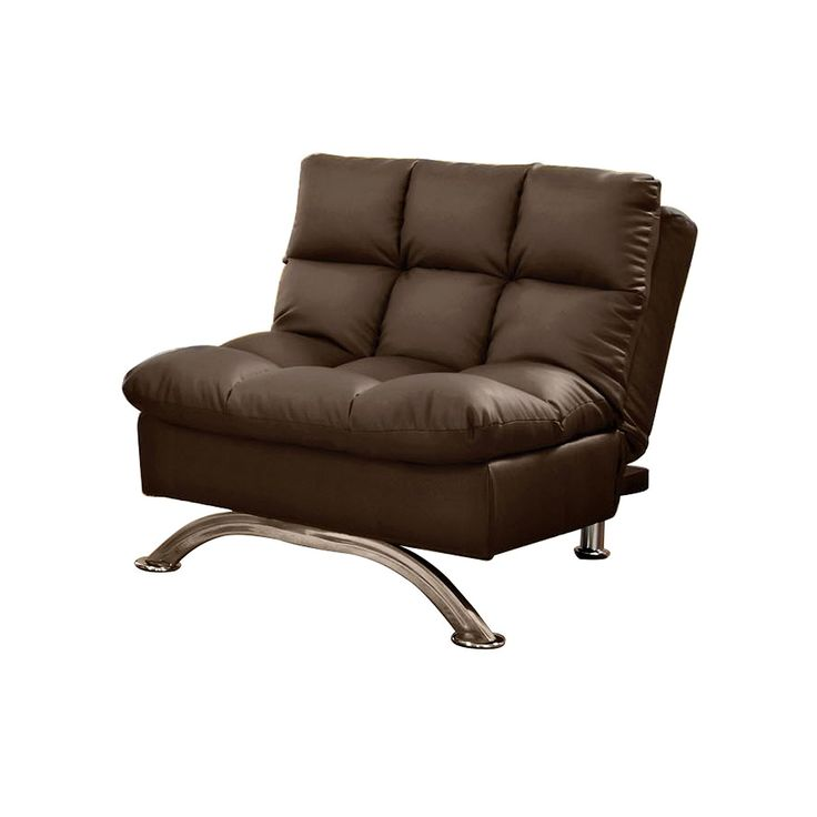 Venetian Worldwide Aristocrat Futon Chair, Dark Brown