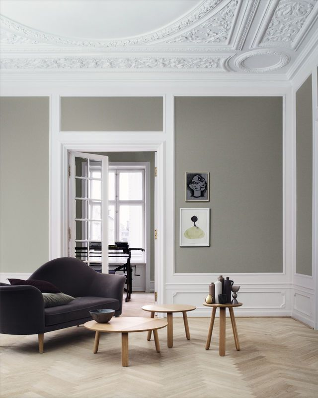 Soffa/Chaise longue Grand Piano med en ram i massivt trä, polyuretan skum, svartlaserad ben i e...