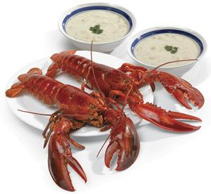 LOBSTERS...need I say more?? Best pricing I have found anywhere. Sent live ones to Tom, we were in heaven.