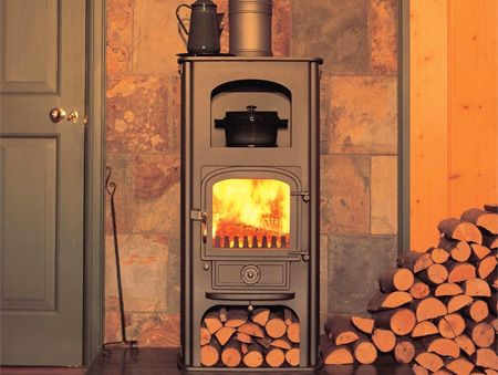 Clearview Pioneer Oven multi fuel / wood burning stove