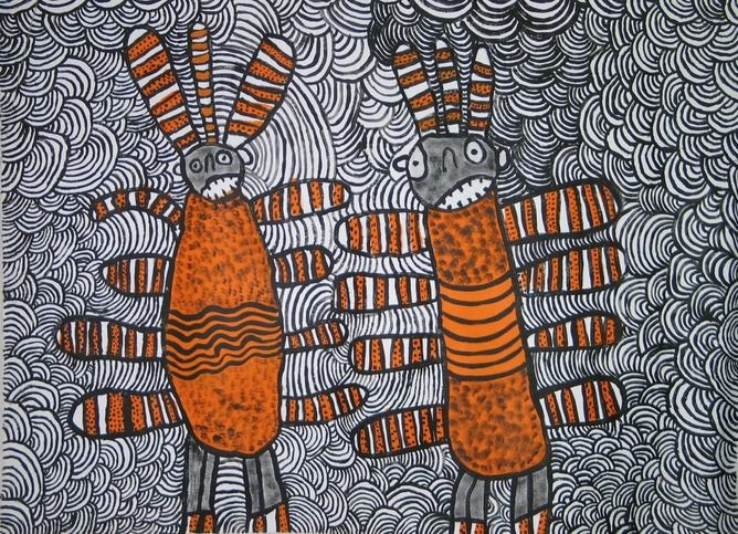 Dreamings and place - Aboriginal monsters and their meanings (Part 5)