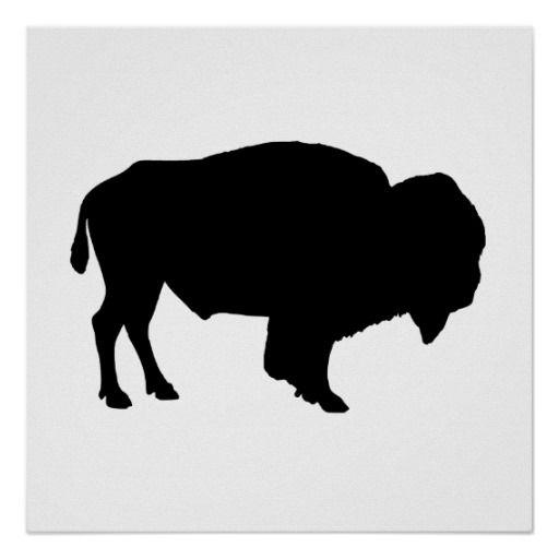Buffalo Silhouette Print