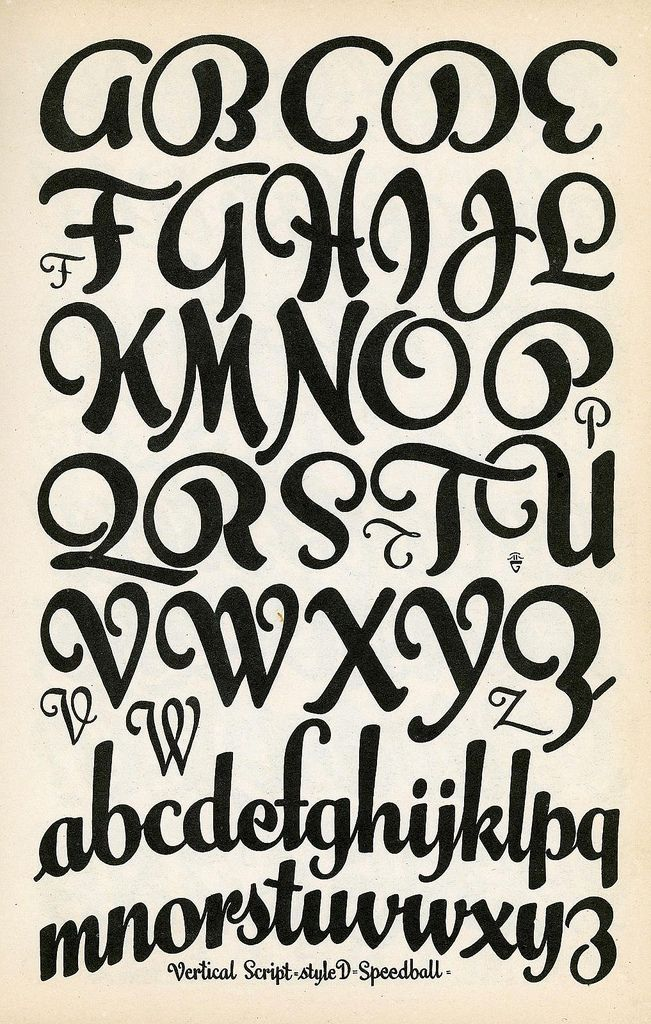 vertical script speedball lettering lettertype pinterest style lettering and depression