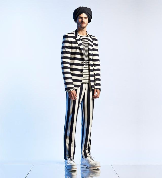 Jean Paul Gaultier – Prêt-à-porter uomo – Primavera/Estate 2013