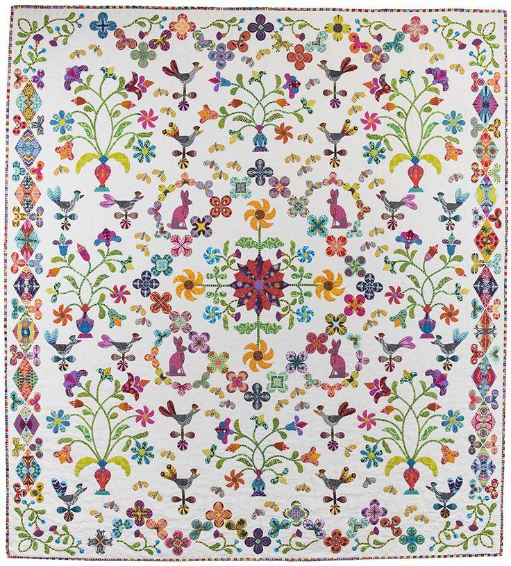 206 best Applique Quilts images on Pinterest   Classic beauty ... : rocky mountain quilt museum - Adamdwight.com