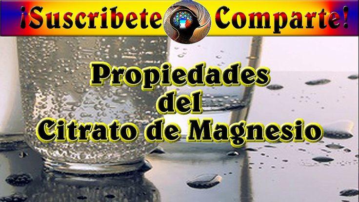 Propiedades del Citrato de Magnesio