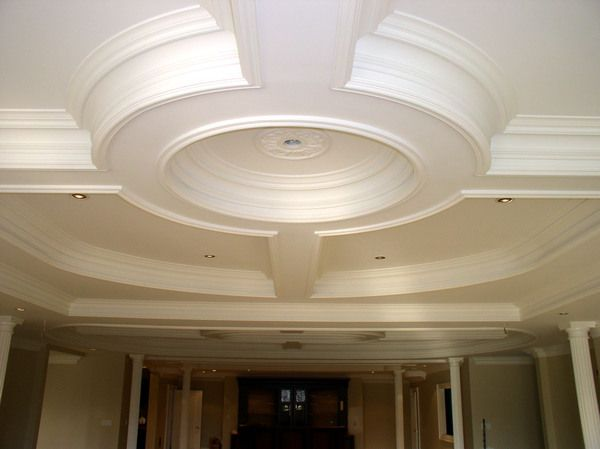 Coffered Ceiling Love That It S A Different Shape Not All Boxy Decor Ideas