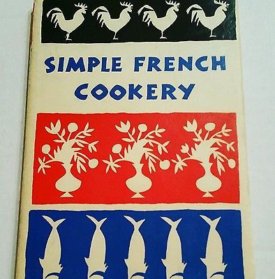 Simple French Cookery Peter Pauper Press Recipes Cookbook 1958 HC Midcentury MCM