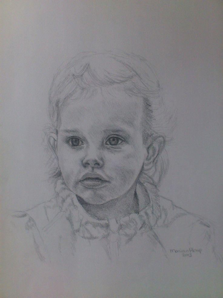 Nina, getekend door Marian Plomp