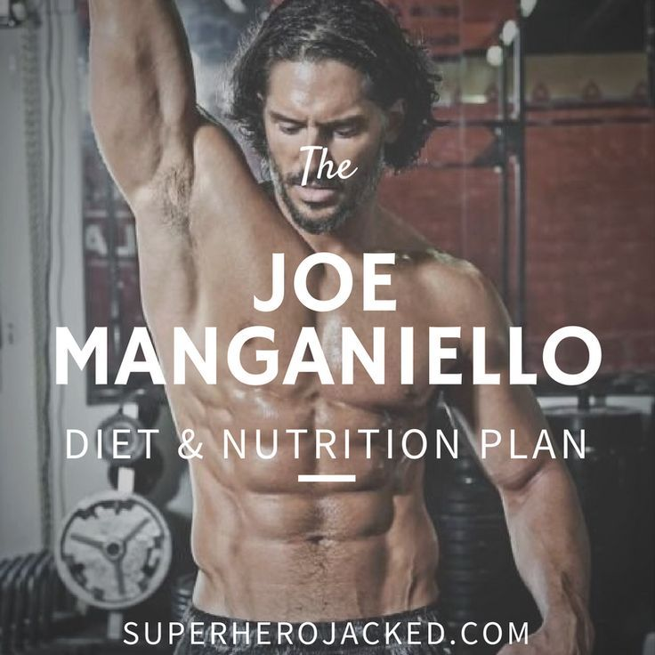 joe manganiello workout and diet PLAN
