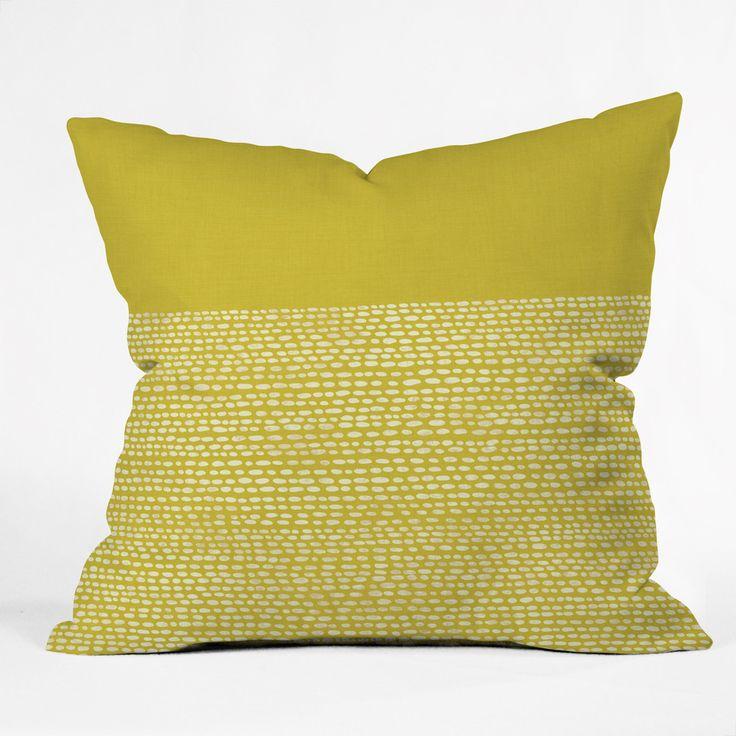 Sofa Sale Jacqueline Maldonado Riverside Yellow Throw Pillow