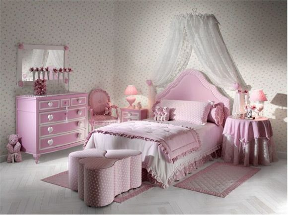 104 best Cute girl bedrooms images on Pinterest Home Bedrooms