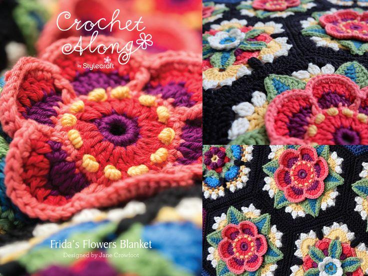 25 besten CAL und KAL Bilder auf Pinterest | Bastelarbeiten, Crochet ...