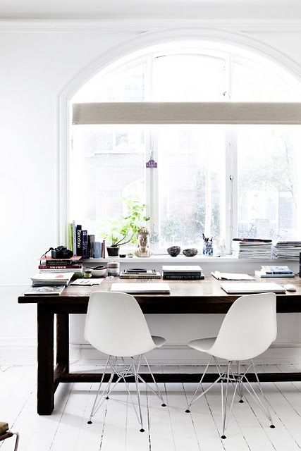 73 besten EAMES DSR Bilder auf Pinterest Küchen, Arbeitsbereiche - esszimmer design schwarz weis kontraste