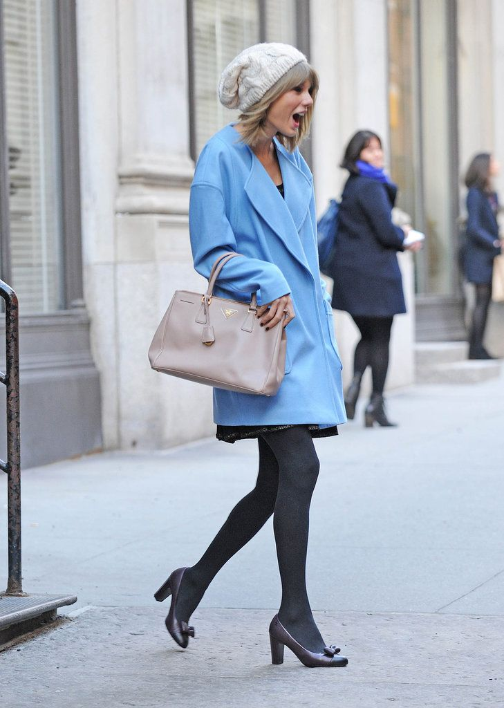 Taylor Swift let out her surprise face in NYC on Thursday.