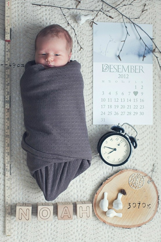 Clever photo with baby detail. Also awesome, because I am due December 8th.