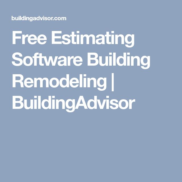 Best 25+ Construction estimating software ideas on Pinterest - remodeling estimate
