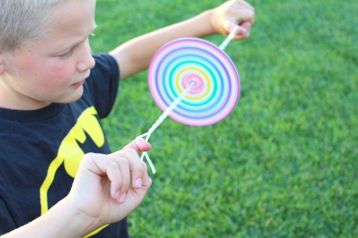 kids spinner craft