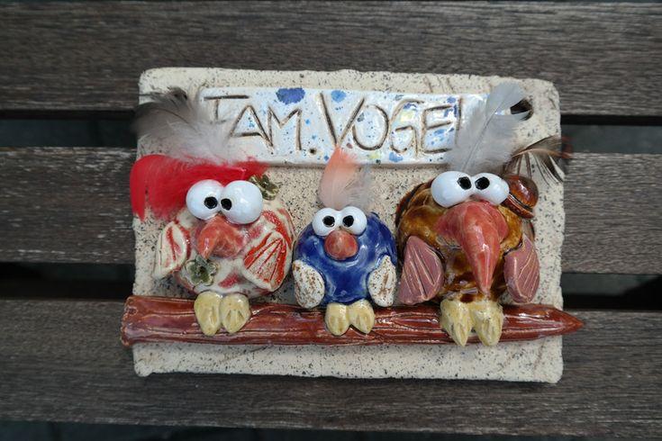 Tür- & Namensschilder - Das besondere Vogl Türschild - ein Designerstück von ThoLiKo bei DaWanda