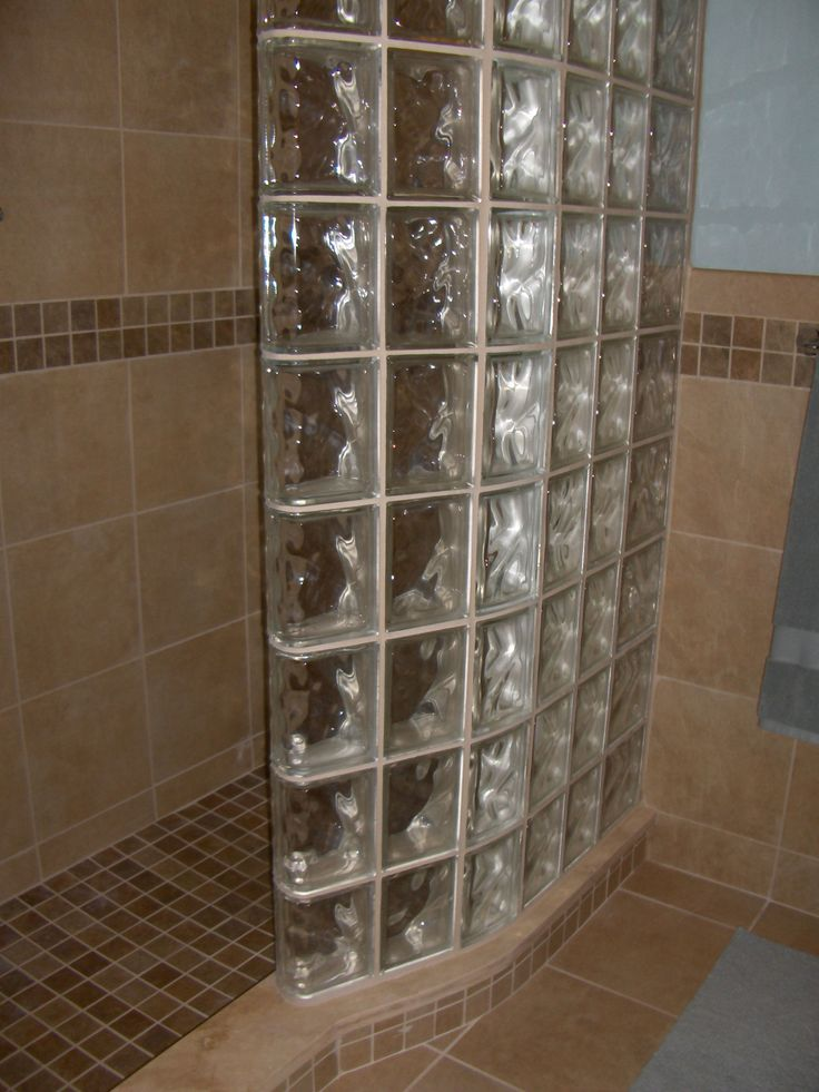 glass block shower wall for small bathroom showers for small bathrooms idea