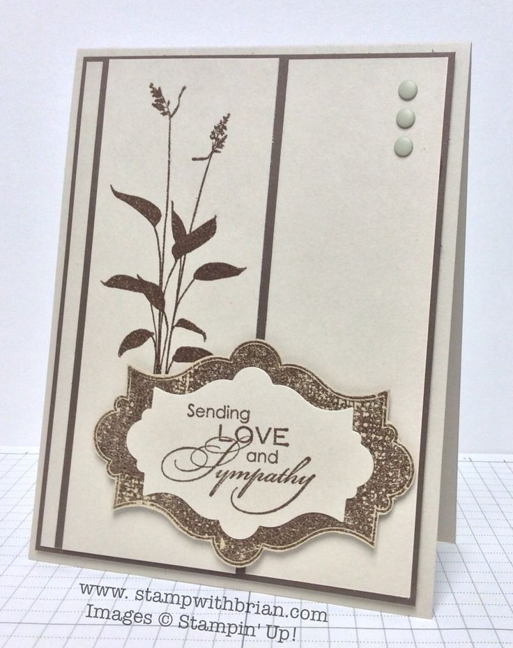 Love Sympathy, Everything Eleanor, World of Dreams, Stampin' Up!, Brian King, FabFri45