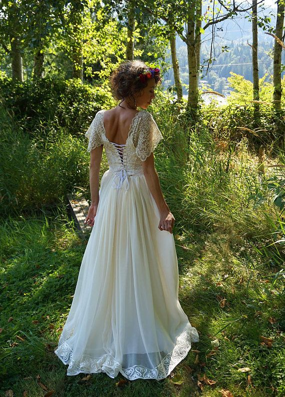 Sale Mystic Wedding Gown Mystical Dress Witch Bohemian Etsy Whimsical Wedding Gown Dresses Mystical Dress